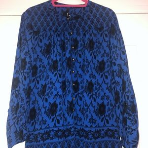 Plenty by Tracy Reese Patterned Blouse